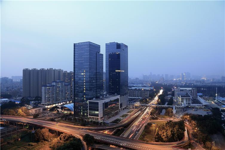 广州坑口地铁站城市综合体
