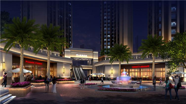 惠州畔山悅海花园照明设计