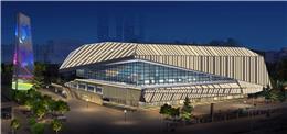 深圳松岗体育中心照明设计
