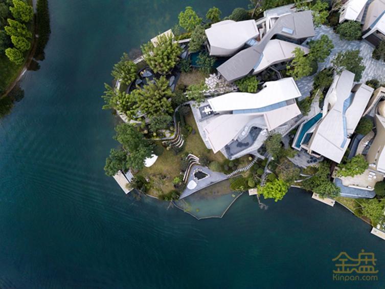 成都麓湖生态城黑玉岛