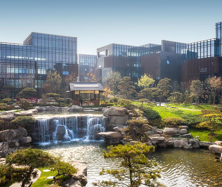 保定智慧谷文化创意产业园内核公园