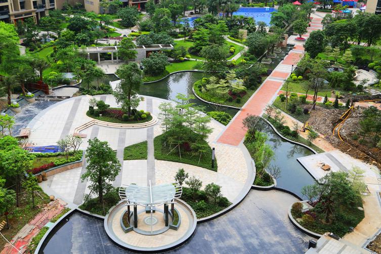 佛山三联盛南新都景观设计