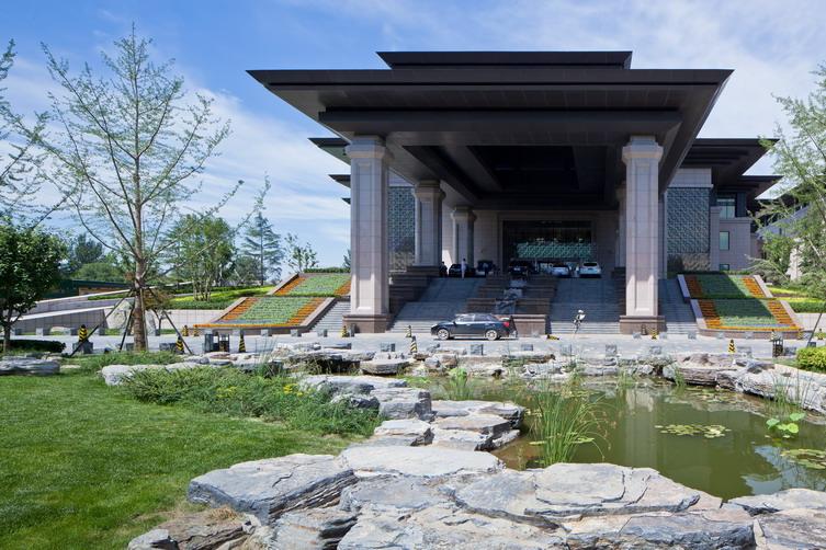 廊坊艾力枫高尔夫花园酒店景观设计