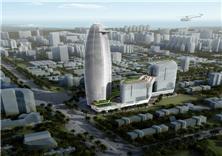 北海北部湾国际金融中心建筑方案设计