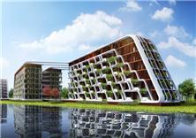 上海松江世茂纳米魔幻城酒店式公寓建筑方案设计