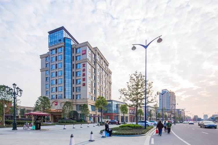 成都国色天乡商业街建筑设计案例_成都国色天乡商业街