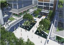 厦门航空商务广场景观方案设计