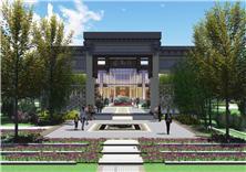 北京京投琨御府售樓處景觀設計