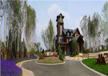 沈陽萬科惠斯勒小鎮景觀設計