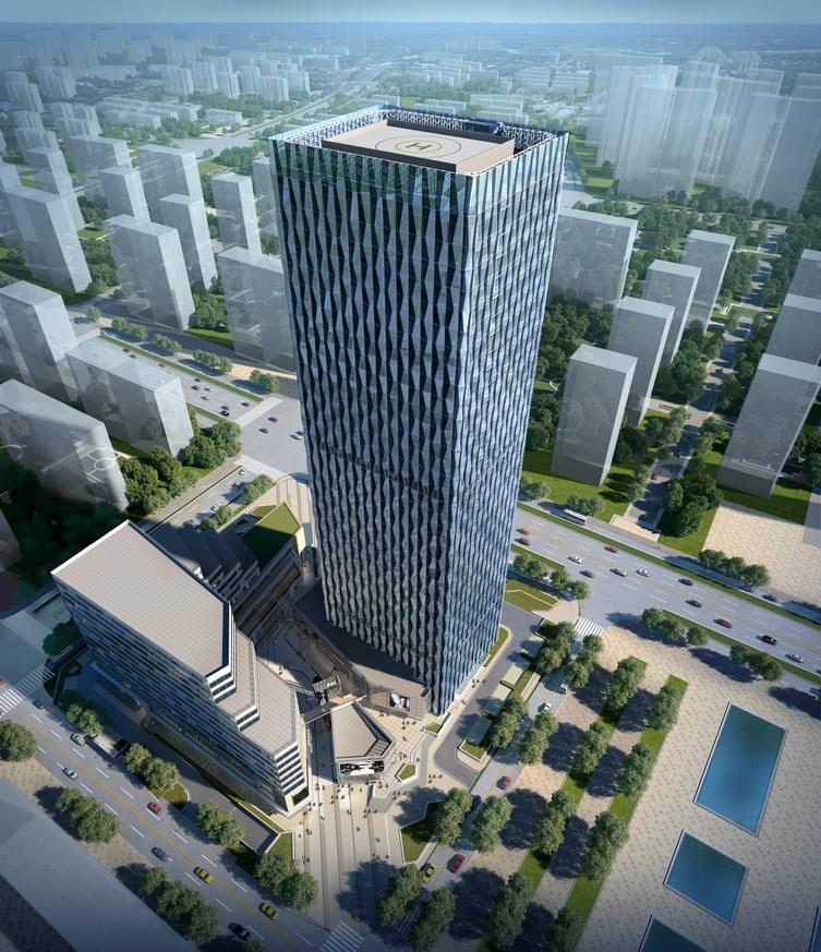 镇江绿地中央广场建筑方案设计图片