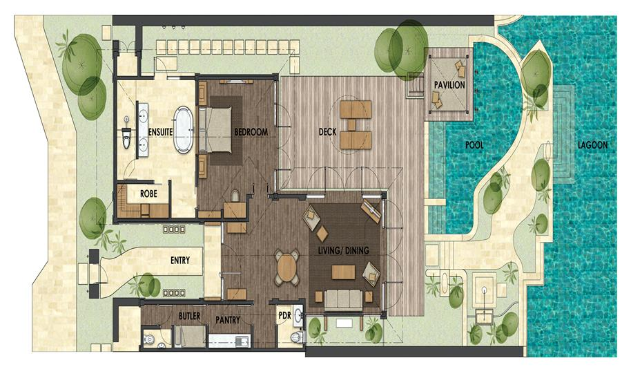 巴厘岛圣瑞吉斯度假酒店_建筑设计工程资料_金盘网