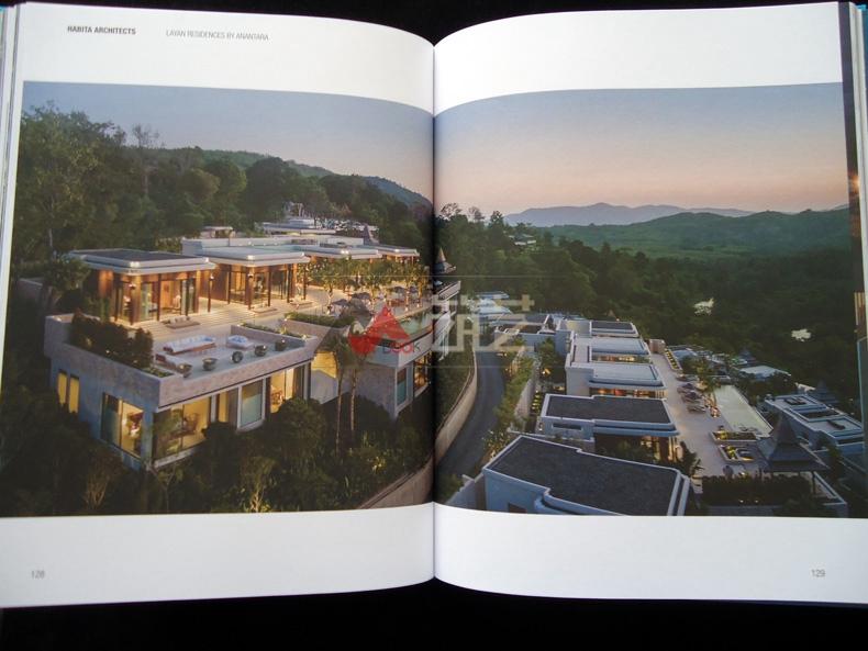平面度假村v平面英文版哈比塔建筑师事务所作丽江热带院子设计图图片