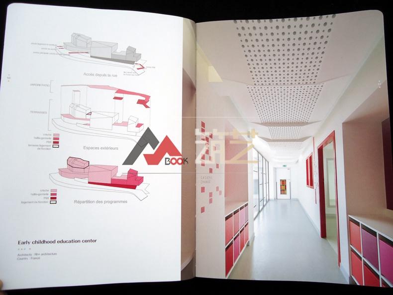 UILDADREAM英文版数学幼儿园建筑设计案世界手抄报简单版面设计图图片