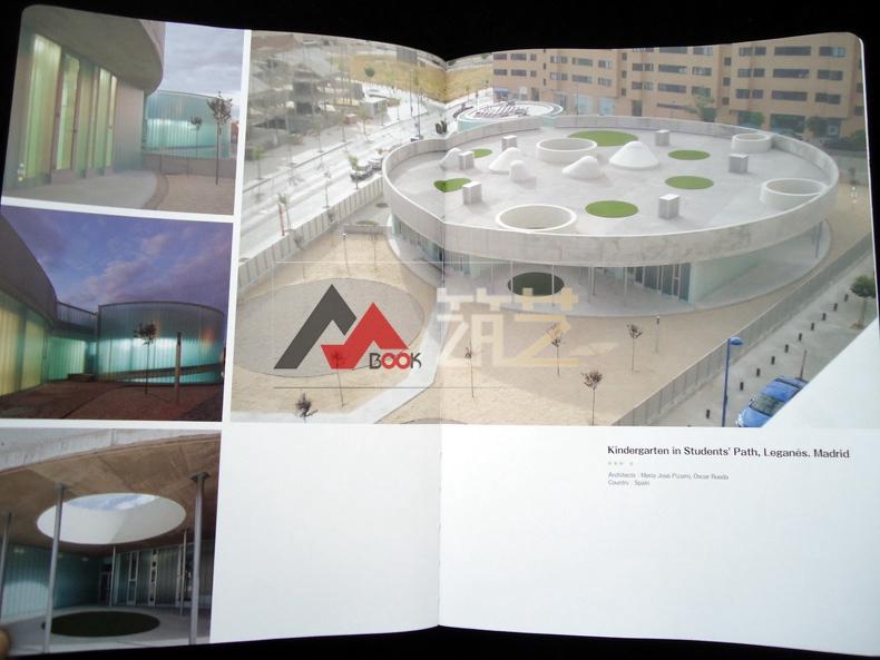 BUILDADREAM英文版世界幼儿园建筑设计景观设计中式图片