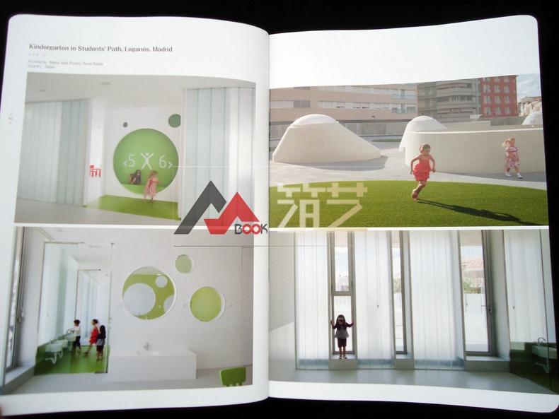 BUILDADREAM英文版世界幼儿园建筑设计幼儿园厕所标识设计图图片