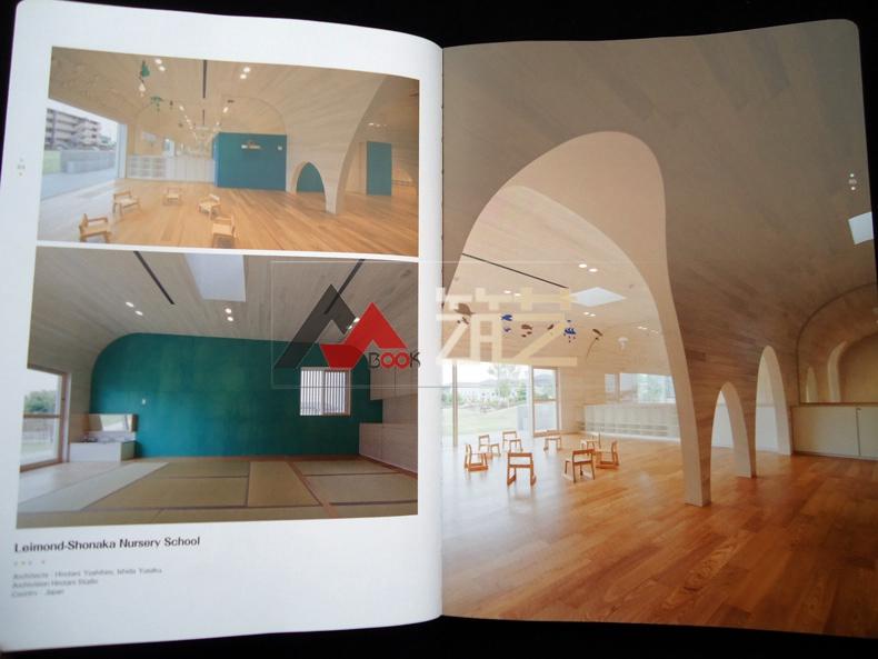 UILDADREAM英文版世界幼儿园建筑设计案小学带梯步大门设计图图片