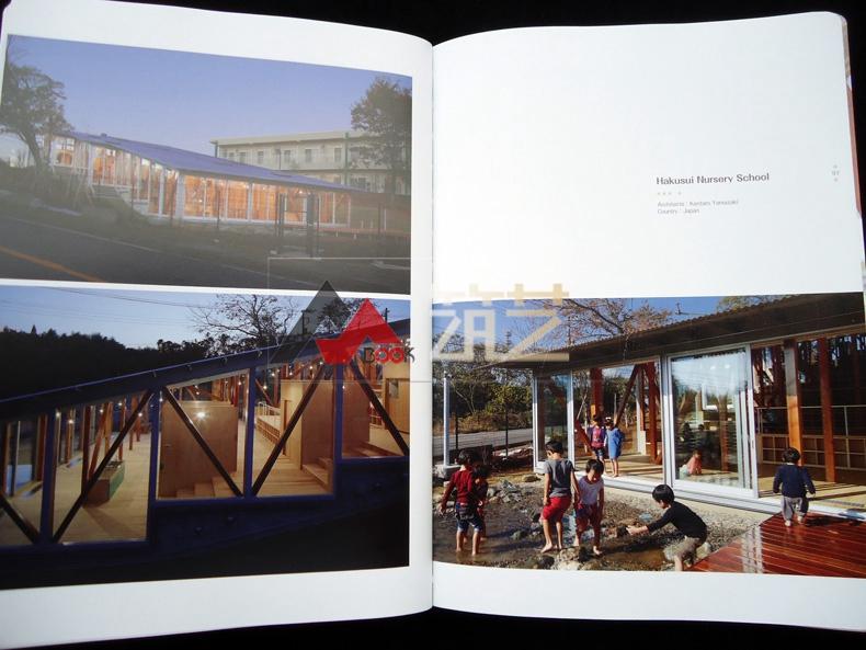 UILDADREAM英文版世界幼儿园建筑设计案管理学绘制网络图图片