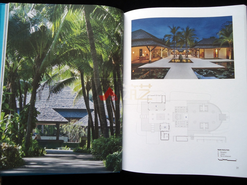 热带度假村v热带英文版哈比塔建筑师事务所作摘要包装设计坚果图片