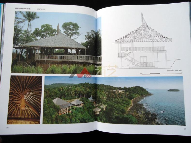 热带度假村设计英文版哈比塔建筑师事务所作设计院教学楼设计图图片