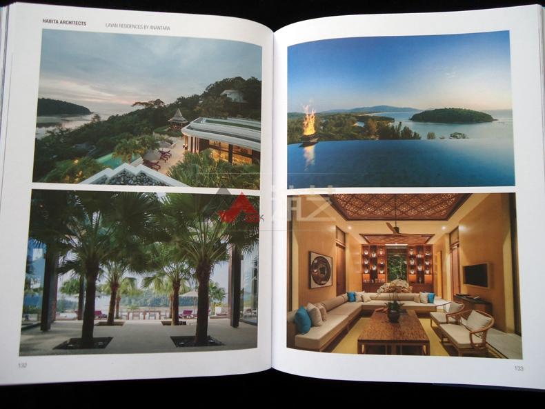热带度假村v热带英文版哈比塔建筑师事务所作方式加宽道路设计图图片