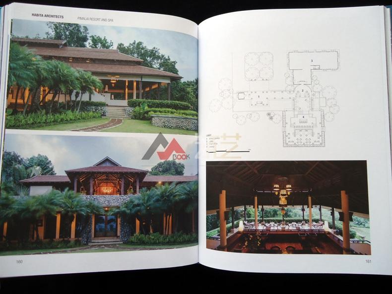 热带度假村设计英文版哈比塔建筑师事务所作arcgis绘制平面图图片