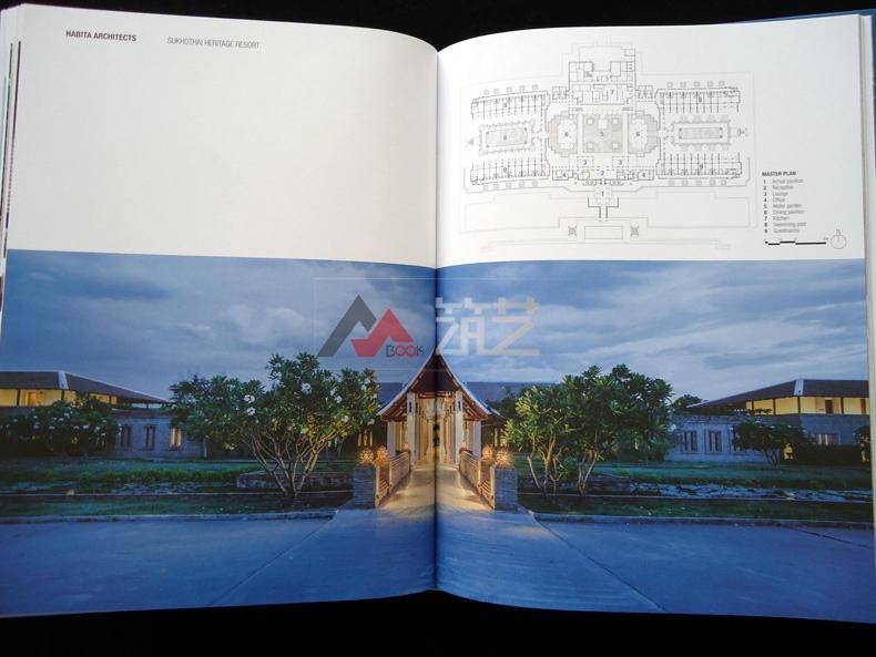 热带度假村设计英文版哈比塔建筑师事务所作荷花杯酒店家具大赛设计图片