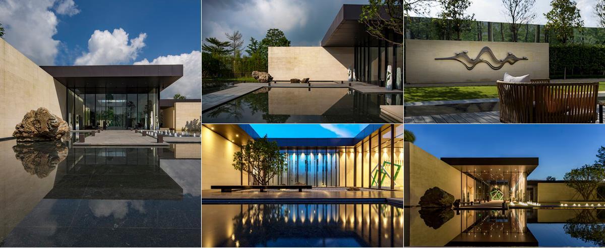 【金盘专题】示范区水景设计—庭院水系景观