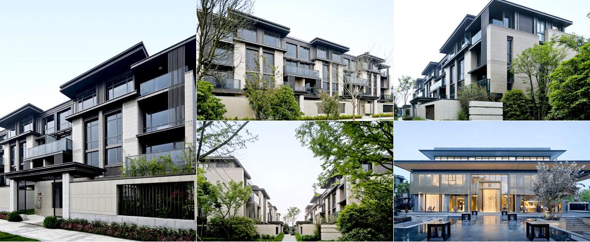叠拼别墅建筑设计-上海保利·青浦西郊锦庐