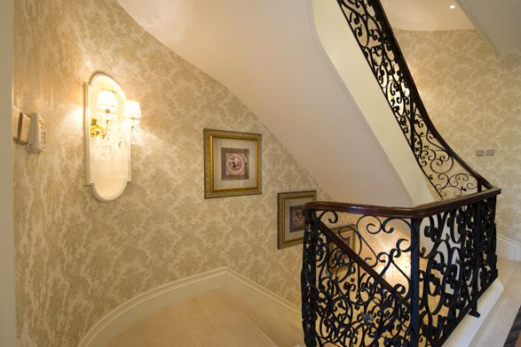 三坡楼梯设计效果图