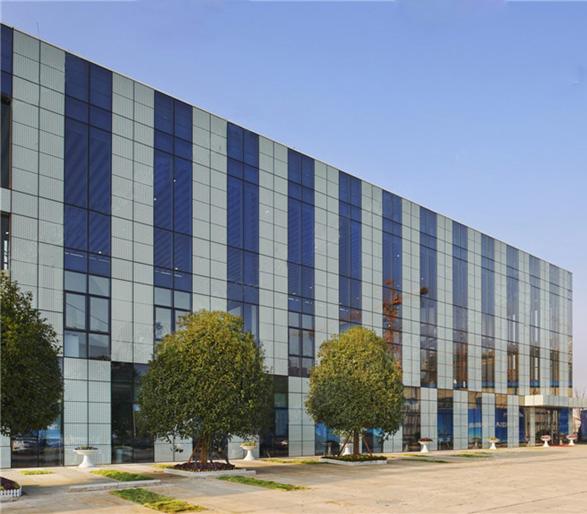 湖南省建筑设计院,美国凯里森建筑事务所 景观设计:河南蓝色实业有限