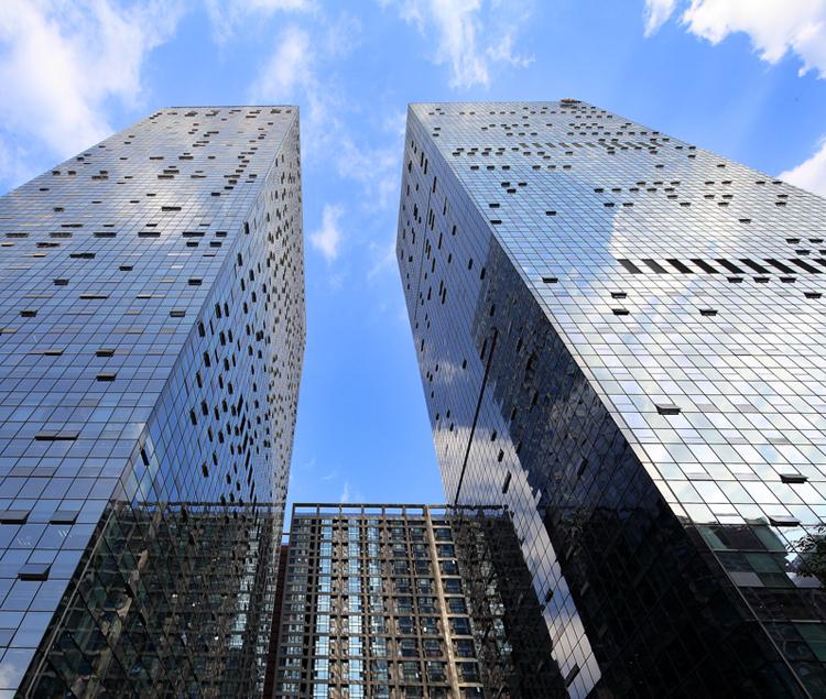 四川成都香年广场建筑设计