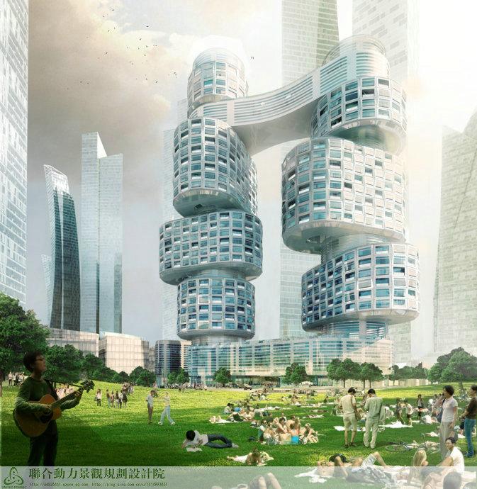 韩国首尔Velo Towers建筑方案设计