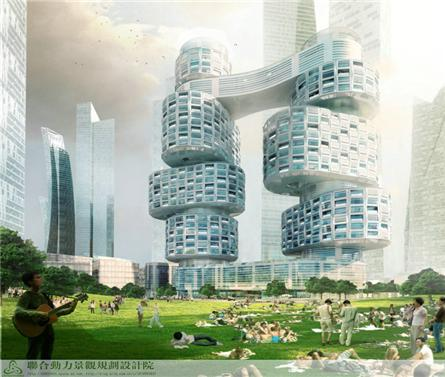 韓國首爾Velo Towers建筑方案設計