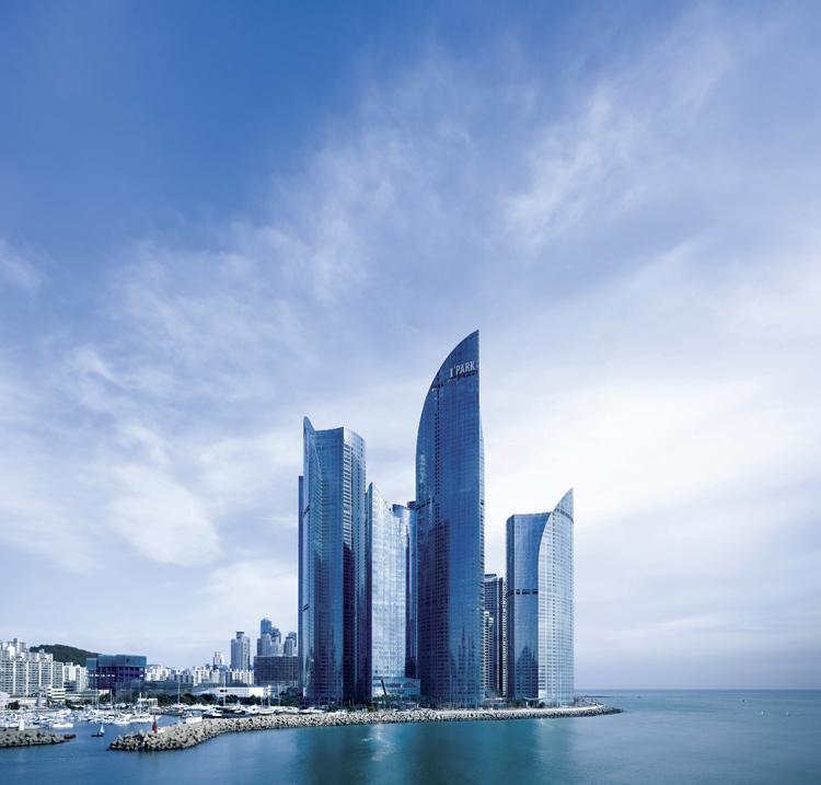 韩国釜山Haeundae Udong Hyundai 建筑设计