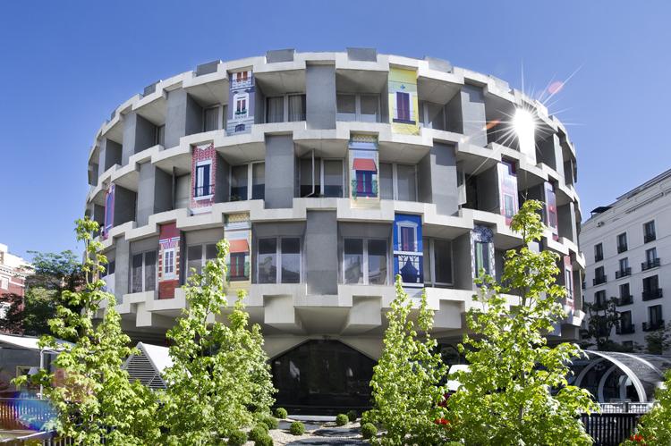 西班牙马德里GUINDOUS16建筑设计