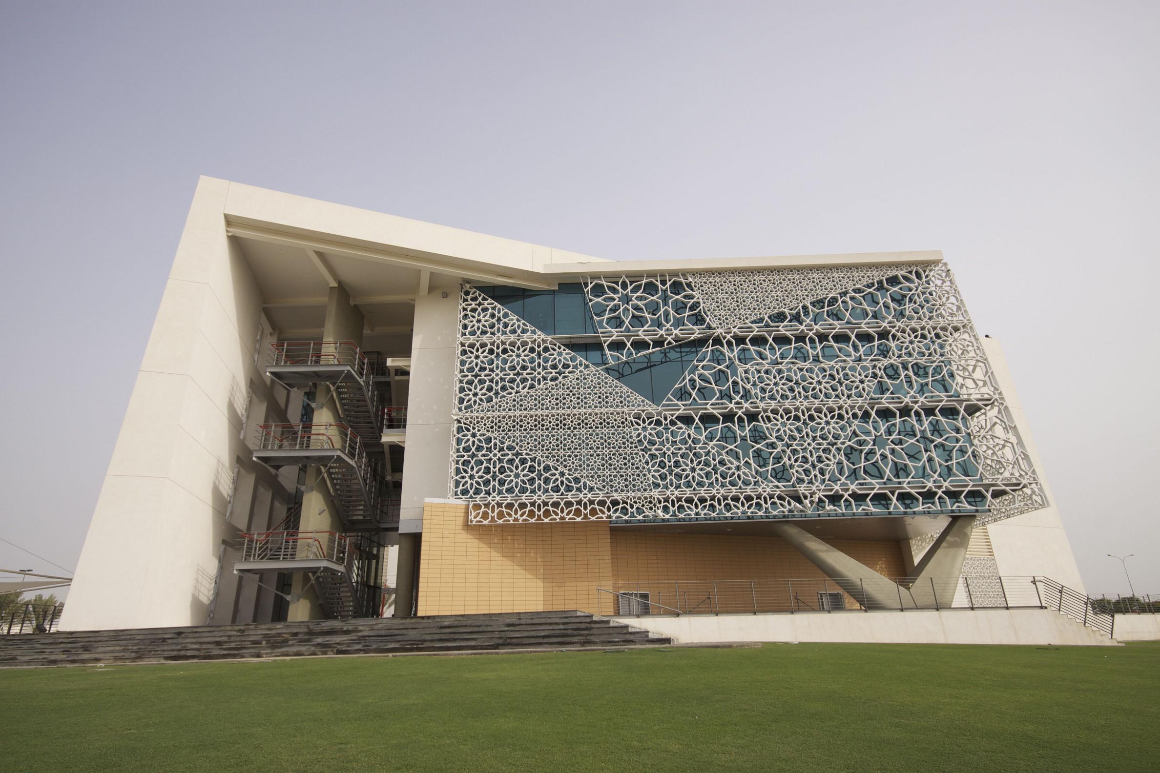 阿曼马斯喀特银行办公大楼建筑设计