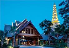 西雙版納避寒皇冠假日度假酒店建筑設計