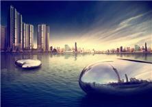 廣州時代外灘景觀設計