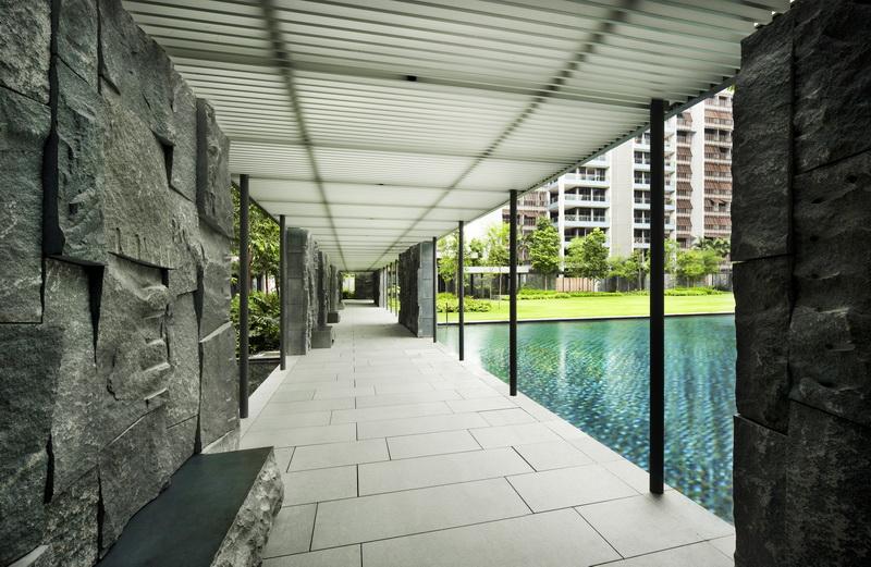 新加坡优景苑集合住宅景观设计