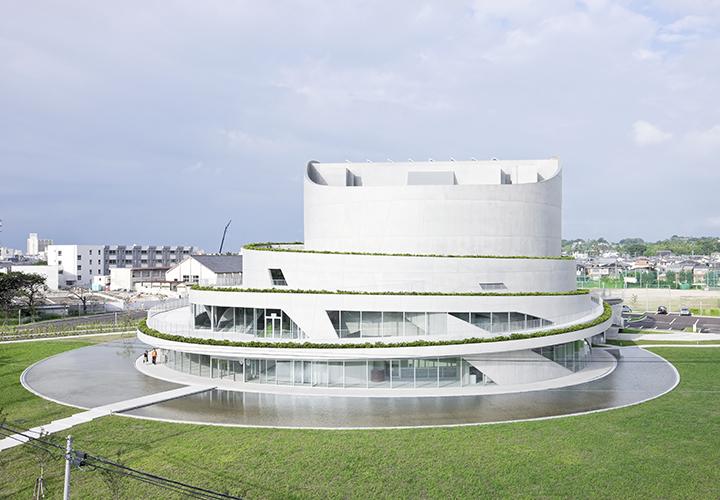 日本新泻市Akiha Ward文化中心建筑设计