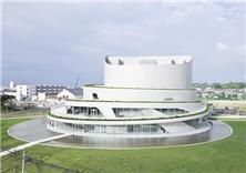 日本新瀉市Akiha Ward文化中心建筑設計