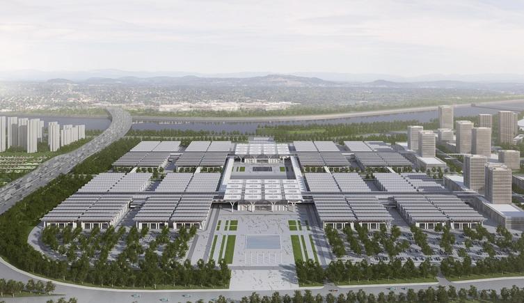天津国家会展中心建筑方案设计