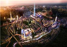 贵阳中天未来方舟(E区地块)建筑方案设计