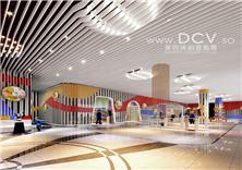 西安主题乐园设计/陕西府谷金三角购物广场儿童主题乐园设计