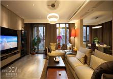 西安绿地?#20992;?#23665;精品别墅样板间室内设计