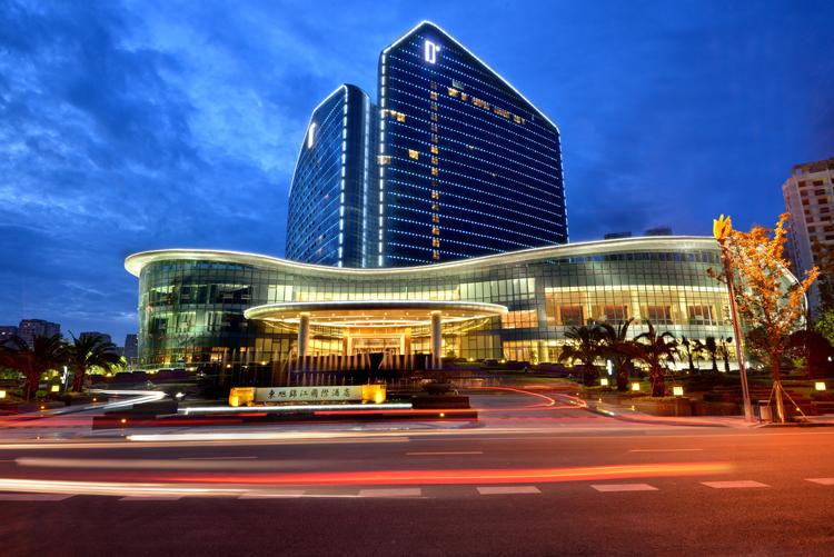 东旭锦江国际酒店景观工程设计