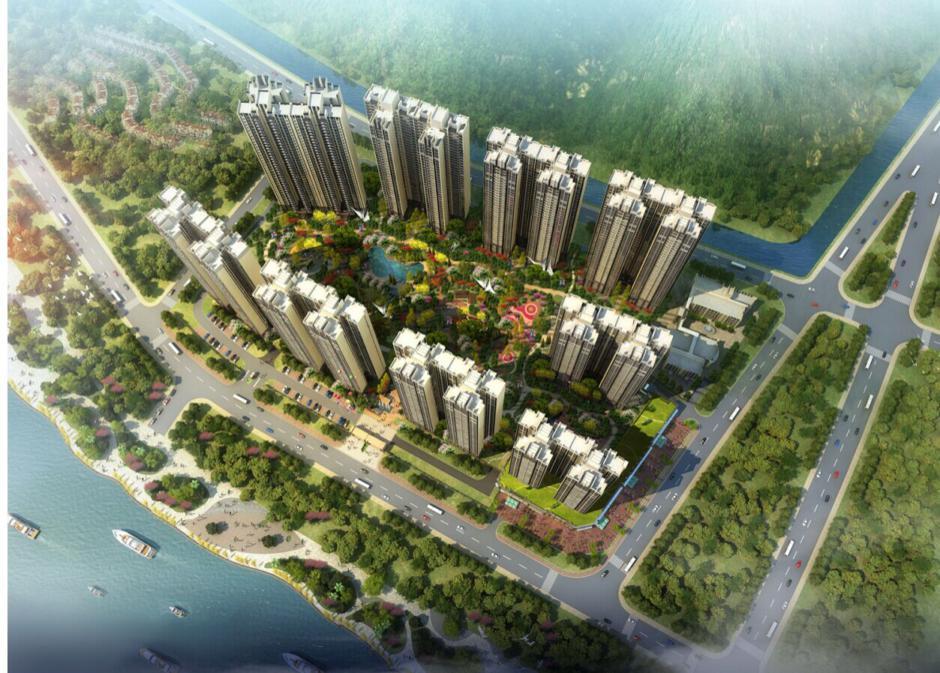 龙湖春江名城景观设计