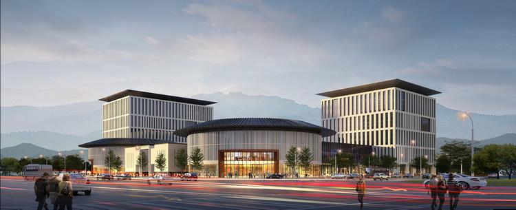 梅州客运站建筑设计