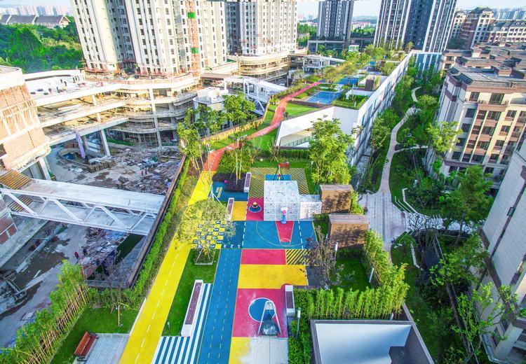重庆龙湖U城屋顶花园