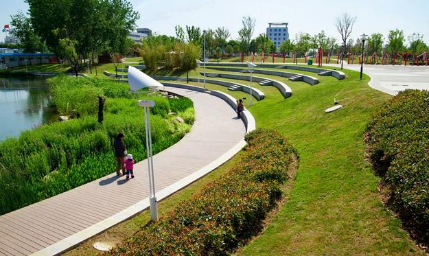 南京百家湖广场景观改造